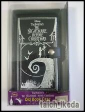 New Nightmare Before Christmas Old book Leather Case for iPhone 5 5S 5C Disney