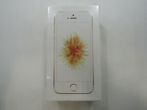 New Apple iPhone SE A1662 Gold Unlocked 16GB Clean IMEI -BT7319 W