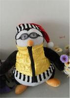 """18"""" Cute TV Series Joey's Friends HUGSY Plush PENGUIN Rachel Stuffed Doll Toy"""