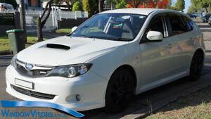 Window Visors Weathershields 4pcs for Subaru Impreza WRX Hatch 2008-2011 GE GH