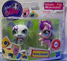 Littlest Pet Shop Totally Talented Horse and Mouse #2684-2685 Brand New in Box