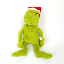 "Dr Seuss Grinch Plush 14"" Tall How The Grinch Stole Christmas Doll Manhattan"