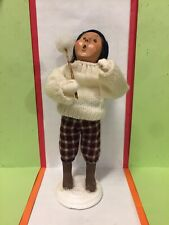 """2001 Byers Choice.The Carolers�Child With Marshmallow """". Limited Edition 89/100."""