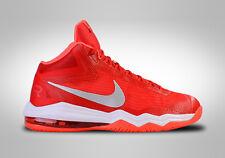 NEW NIKE Air Max Audacity TB Basketball Shoes Mens Sz 12.5 Red White 813318 602