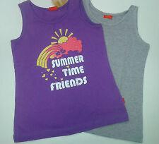 Ärmellose Mädchen-T-Shirts & -Tops mit Rundhals-Ausschnitt aus Polyester