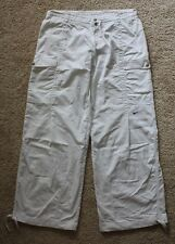 NEW Nike Womens white cargo active tracksuit pants SIZE 14