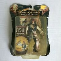 Pirates of Caribbean Dead Man's Chest Jack Sparrow Pirate Clash Action Figure