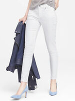 NWT Banana Republic $98 Women Skinny Stain-Resistant Ankle Jean Size 28L,31P,32