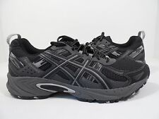 ASICS Men's Gel-Venture 5 Trail Runner Black/Onyx/Charcoal Size 7.5 M