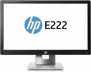 "HP 21.5"" IPS Monitor (E222), 1920 x 1080, VGA, HDMI, DisplayPort, 2 USB, VESA"