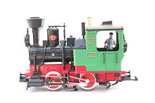 LGB Lehmann G Scale 2020 STEAM LOCOMOTIVE NO 2 SW Light with Train Drivers