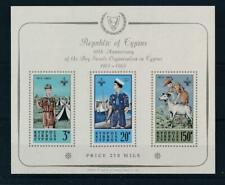 [56032] Cyprus 1963 Scouts good MNH Very Fine Minisheet $130