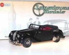 Lansdowne Models LDM 58b 1949 Lagonda 2.6 Litre Drophead Coupe DHC black 1:43