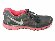 Nike Dual Fusion ST 2 Mens Size 10.5 Running Athletic Tennis Shoes Black Red