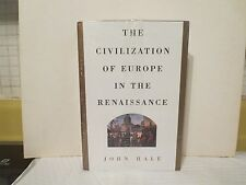 The Civilization of Europe in the Renaissance by John Hale (NEW & SEALED HC) Art