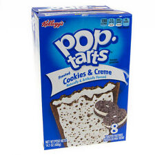 NEW SEALED POP TARTS FROSTED COOKIES & CREME 14.1 OZ TOASTER PASTRIES