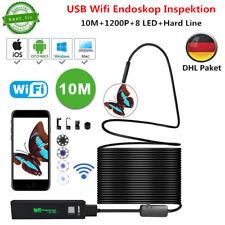 10m WiFi Endoskop Wasserdicht USB Endoscope Inspektion Kamera für IOS Android PC
