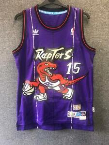 Vince Carter Toronto Raptors Adidas NBA Swingman Jersey Medium TD014 OO 12