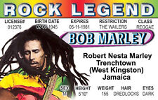 ROCK LEGEND Robert Nestra Marly Trenchtown West Kingston Jamaica Drivers License