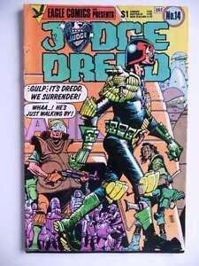 judge dredd 14 eagle comics