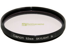 52mm. filtro Skylight 1x Canon