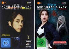 10 DVDs * KOMMISSARIN LUND - DAS VERBRECHEN - STAFFEL 2 + 3 IM SET # NEU OVP &