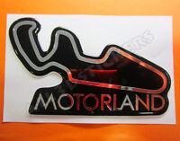 Pegatina Relieve 3D Circuito Motorland 13x8 cm