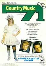 """Slim Moore's Country Music 71, """"Country music yearbook"""""""