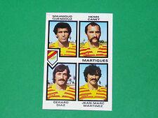 N°446 GUENDOUZ FC MARTIGUES D2 PANINI FOOTBALL 85 1984-1985