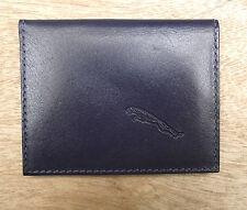 Jaguar logo Blue Leather credit card size, licence / ID holder vs933