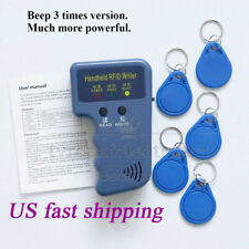 Portable Handheld Card Writer/Copier Duplicator for All 125KHz RFID Cards