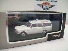 """Volvo 145 Express """"Ambulance"""", 1969, white, PREMIUMX 1:43, OVP"""