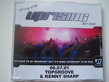 UPRISING - 06.07.01 TOPGROOVE & KENNY SHARP - CD