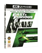 Fast and Furious 6 4K UHD + Blu Ray (Slipcover)