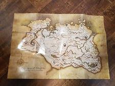 Brand New Elder Scrolls Skyrim Province Of Skyrim Map Poster NEW NEVER HUNG