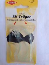 6 Paare BH Träger Bikini Träger klar transparent zum Einhaken 1 Paar 10 mm
