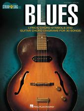 "STRUM & SING ""BLUES"" GUITAR/VOCAL MUSIC BOOK W/LYRICS/CHORDS SONGBOOK-BRAND NEW!"