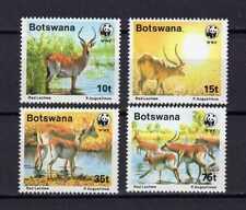 14810) BOTSWANA 1988 MNH** Deer WWF Red Lechwe