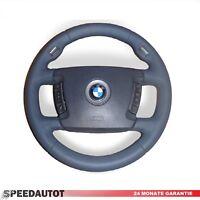 Grigio Volante IN Pelle Multif. BMW 7er Serie E65, E66 Sport M 4-Speiche Airbag