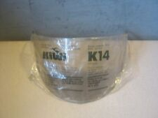 KIWI K14 TINT MOTORCYCLE LENS FACE SHIELD HELMET LID K-14 NOS SA-6537