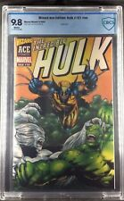 Wizard Ace Edition: Hulk #181 #nn 2001 CBCS Graded 9.8 WHITE PAGES