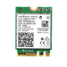 Intel Wireless AC 9260 NGW NGFF M.2 1730Mbps FRU 01AX769 SPS 920687-001 BT5.0