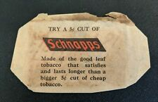 Antique Schnapps Tobacco Packaging Paper
