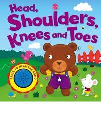 Baby/Kids Sound book Head, shoulders, knees & toes hardback NEW!!!
