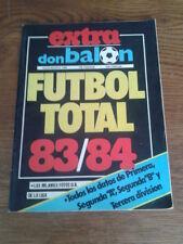 DON BALÓN. EXTRA FÚTBOL TOTAL 83/84