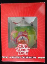 Disney Store Our Family Tree Christmas Ornament Cheshire Cat Dopey Dumbo 2005
