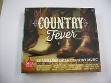 COUNTRY FEVER - 5CD BOXSET 2016 NEW SEALED 100 SONGS - CASH - PARTON - PRESLEY