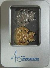 Singapore Air Force 40th Anniversary Air Logistics Badges With Tin Box