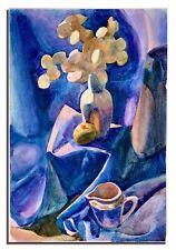 ORIGINAL Watercolor painting on paper artwork from artist still life art