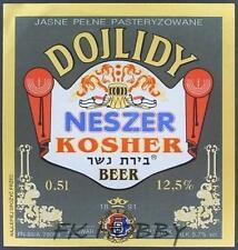Poland Brewery Dojlidy Kosher Beer Label Bieretikett Judaica Jewish do50.1
